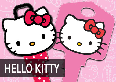 Hello Kitty House Keys