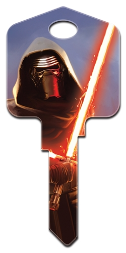 Star Wars Kylo Ren house key