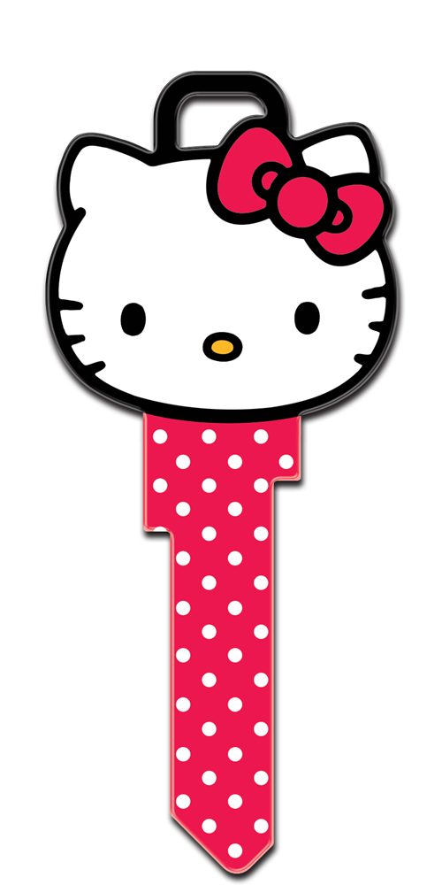 Hello kitty t te en forme de licence cl de la maison - Tete hello kitty ...