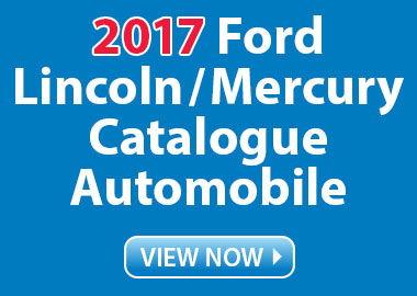 2017 Ford / Lincoln / Mercury Catalogue Automobile