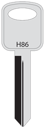 Ford Service Key H86